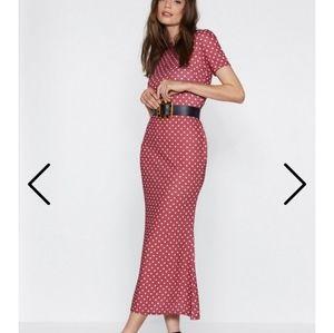 Nasty Gal polka dot  dress size 6.